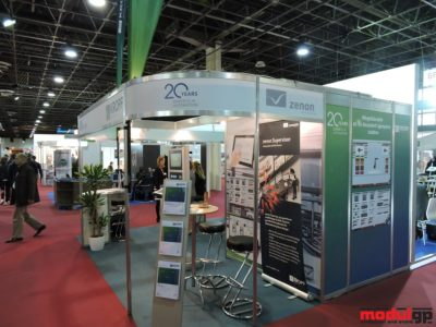 OCTANORM stand