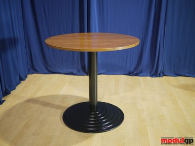 Thonet asztal, kerek talpú, D=80cm