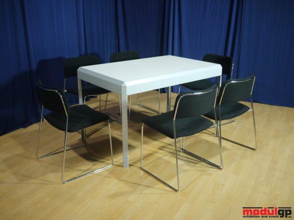 Tárgyaló asztal, 6db Tallin székkel