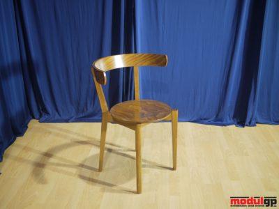 Fa szék, hajlított