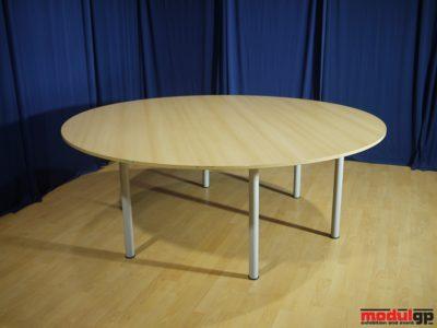 Bükk kerek asztal, D=180cm