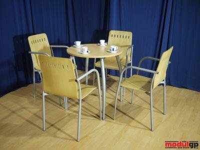Alex asztal, 4db Alex székkel