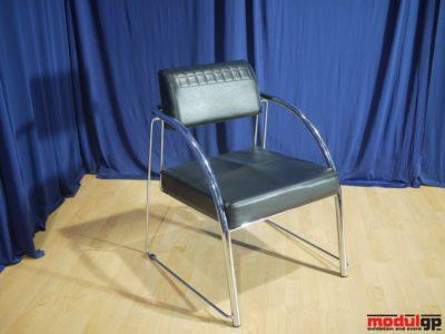 Tonino fekete műbőr fotel