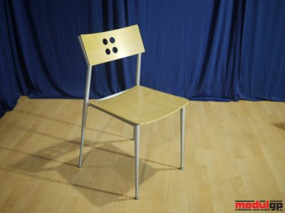 Fémvázas, falapú szék