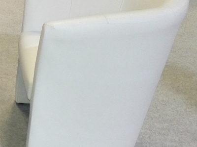 Club fotel, fehér