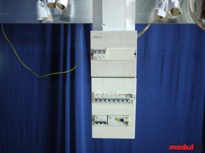 Biztosítótábla 3*63 A-es (40 kW)