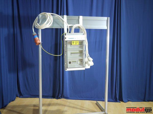 30*63 A-es (40 kW-os) biztosítótábla