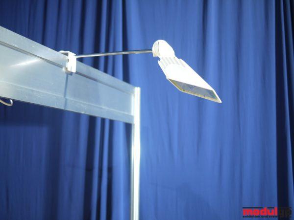 200-300 W-os karos reflektor (meleg fehér fényű), fehér