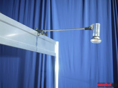 Karos spot lámpa 100 W, flex izzóval