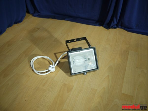 Zárt IP44-es kül- és beltéri 3000-500 W-os reflektor