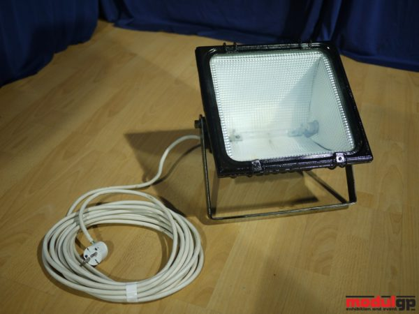400 W-os fém halogén reflektor (fehér fényű)